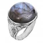 Кольцо из серебра Deno с лабрадором 01R2575LB