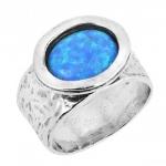 Кольцо из серебра Deno с опалом 01R756OP