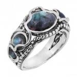 Кольцо из серебра Deno с лабрадором 01R2097LB