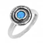 Кольцо из серебра Deno с гранатом 01R1383GR