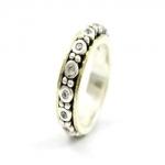 Серебряное кольцо Deno с золотом SNR4629GCZ