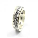 Серебряное кольцо Deno с золотом SNR4811GCZ