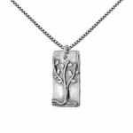 Колье из серебра Deno 01N4348