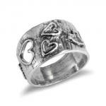 Серебряное кольцо Deno 01R667