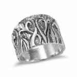 Серебряное кольцо Deno 01R663