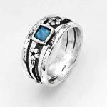 Серебряное кольцо Deno с опалом 01R662OP