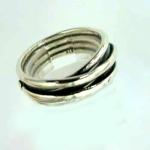 Серебряное кольцо Deno 01R596