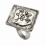 Кольцо из серебра Deno 01R753