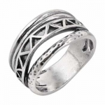 Кольцо из серебра Deno 01R721