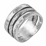 Кольцо из серебра Deno 01R1496