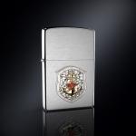 Зажигалка ZIPPO ВМФ эмблема из серебра
