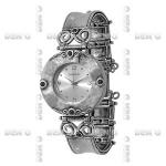 Часы Deno из серебра 01W506ON