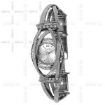 Часы Deno из серебра MVW038CZ