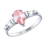 Кольцо из серебра с фианитами 94012746