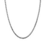 """Серебряная цепочка """"Нонна"""", с алмазными гранями, шириной 4 мм HH000000012"""