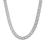 """Цепь мужская серебряная, """"Тройной ромб"""", ширина 9 мм HH000000937"""