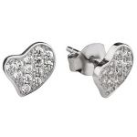 Серебряные серьги Sandara с фианитами IME3058