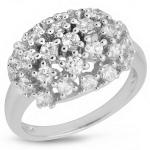 Серебряное кольцо Sandara с фианитами IMR9123