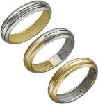 Кольцо из комбинированного золота с фианитами 01К168417Ж