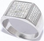 Кольцо из серебра, куб.цирконий 01qrrgg00556a-19-109