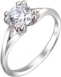 Кольцо из серебра с фианитами 01К158526