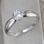 Кольцо из серебра с фианитами Л8К1519392