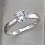 Кольцо из серебра с фианитами Л8К1519395