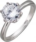 Кольцо из серебра с фианитами Р3К1501741