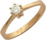 Кольцо из золота с бриллиантами 01К613071