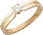 Кольцо из золота с бриллиантами 01К614406