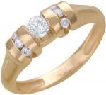 Кольцо из золота с бриллиантами 01К615530