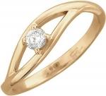 Кольцо из золота с бриллиантами 01К616726