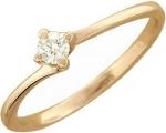 Кольцо из золота с бриллиантами 01К616728
