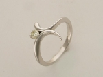 Кольцо из золота с бриллиантами 01К622310