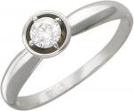 Кольцо из золота с бриллиантами 01К625106