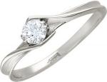 Кольцо из золота с бриллиантами 01К625757