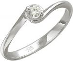 Кольцо из золота с бриллиантами 01К626812