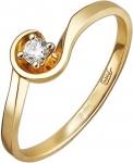 Кольцо из золота с бриллиантами 01К668172Ж