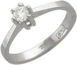 Кольцо из золота с бриллиантами 01К673071