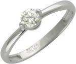 Кольцо из золота с бриллиантами 01К674699