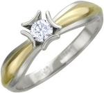 Кольцо из золота с бриллиантами 01К685427