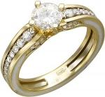 Кольцо из золота с бриллиантами 01К686261Э