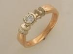 Кольцо из золота с бриллиантами 32К660560
