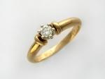 Кольцо из золота с бриллиантами 32К660564