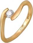 Кольцо из золота с бриллиантами Г10К61Е028