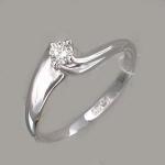 Кольцо из золота с бриллиантами Г10К620006