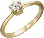 Кольцо из золота с фианитами 01К133267