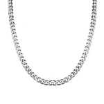 Крупная мужская цепь шириной 8 мм. , панцирного плетения с алмазными гранями M0000000766