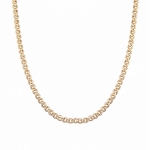 Классическая золотая цепочка пленения Нонна, ширина 5 мм M0000056451