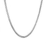"""Мужская серебряная цепь, плетения """"Якорь греческий"""", шириной 4 мм M0000062567"""